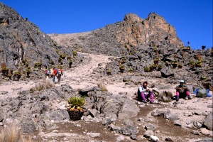 Ascension du Mt Kenya
