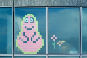 Post-it war - Barbapapa