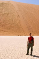 Chris à Dead Vlei