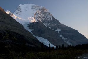 Mt Robson au couchant