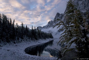 Floe Lake sunrise (1)